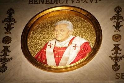 Zanimivost iz obdobja papeža Benedikta XVI.
