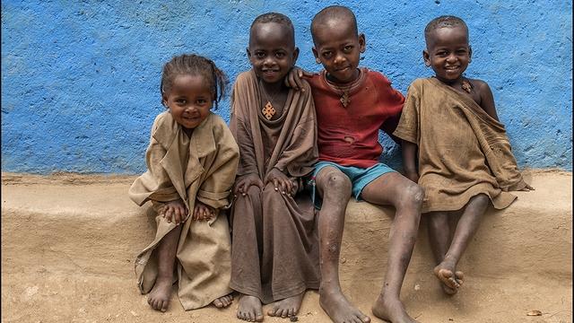 Afrika drugič! Etiopija.