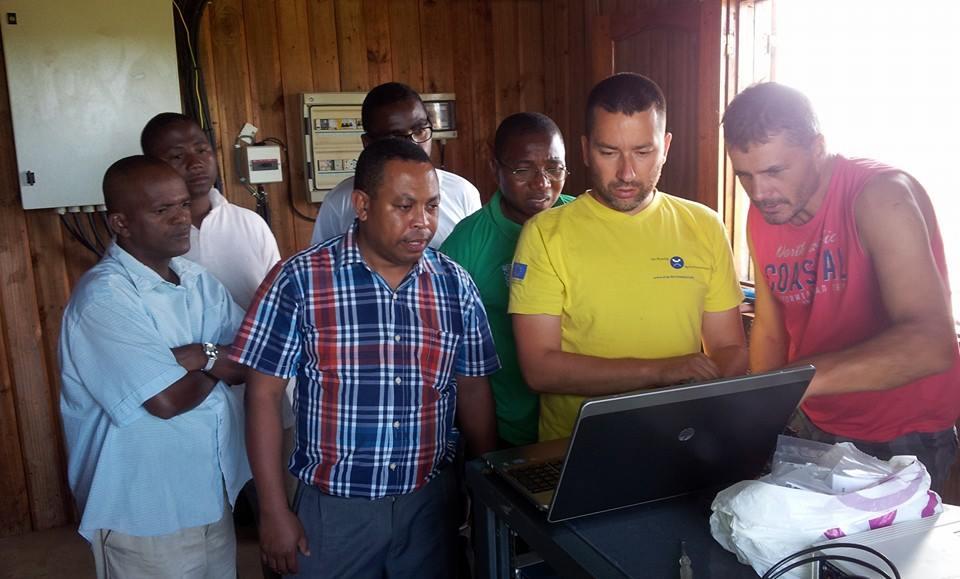 Tehnika, elektrika in Madagaskar